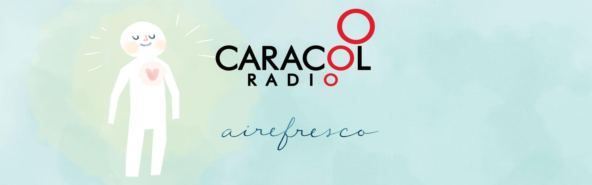 """Entrevista de Aire Fresco Meditación y Mindfulness en el programa de Caracol Radio """"A Vivir Que Son Dos Días"""""""