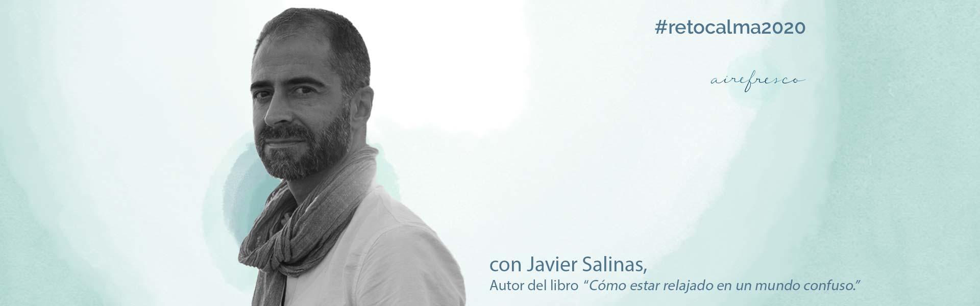 Meditación live GRATIS con Javier Salinas en Instagram