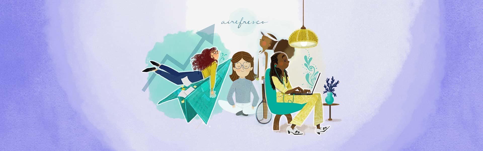Aire Fresco Dia de La Mujer Meditación
